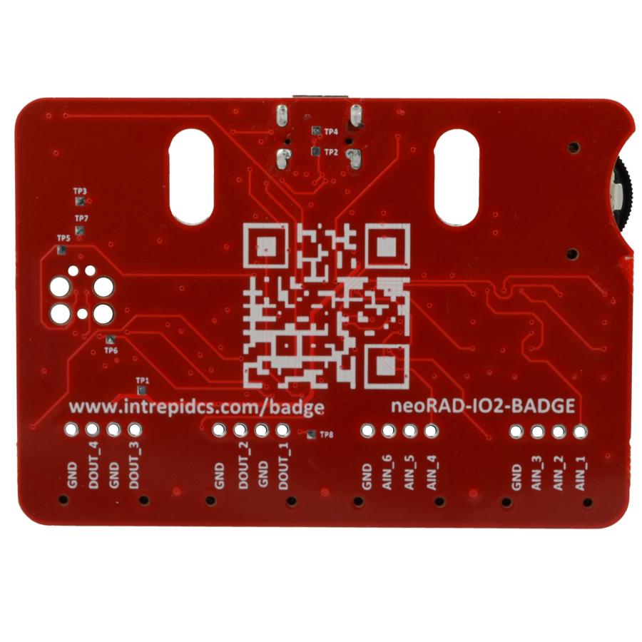 neoRAD-IO2-Badge